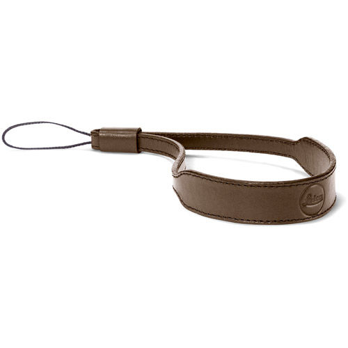 C-Lux Leather Wrist Strap, Taupe