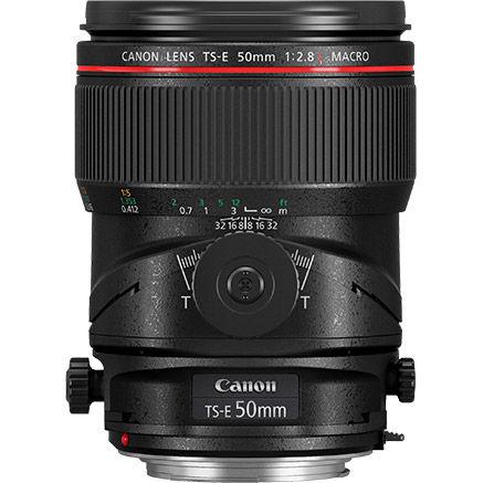 TS-E 50mm f/2.8L Macro Tilt - Shift Lens