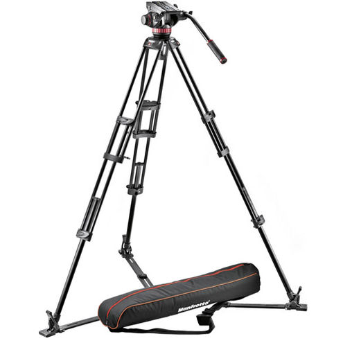 546GB TRIPOD + 502A HEAD + PADDED BAG