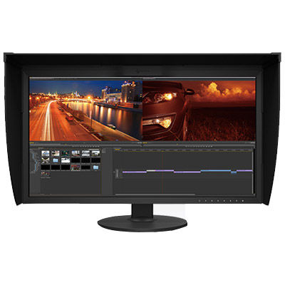 Image of Eizo CG319X-4K-BK 31.1 LED Monitor, 4096x2160 IPS, 2xHDMI, 2xDisplayPort
