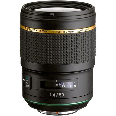 HD Pentax-DA FA 50mm f/1.4 SDM AW Lens