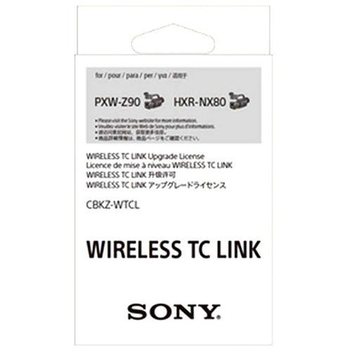 CBKZWTCL  Wireless Time Code Link Upgrade License for HXRNX80 & PXWZ90V