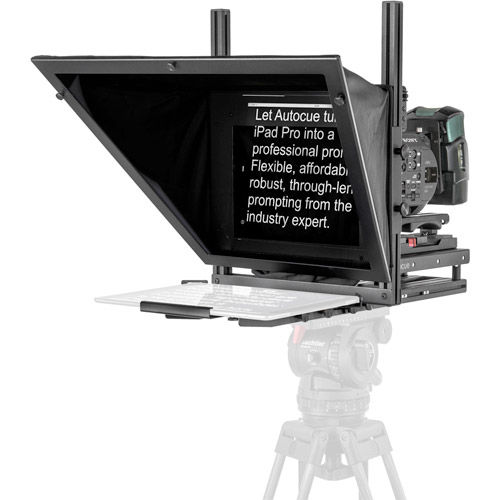 Autocue/QTV  Studio Teleprompter System for iPad Pro