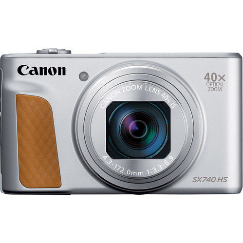 PowerShot SX740HS with Case - Silver