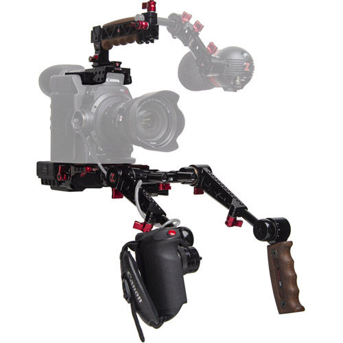 C300 Mark II EVF Recoil with Dual Trigger Grips