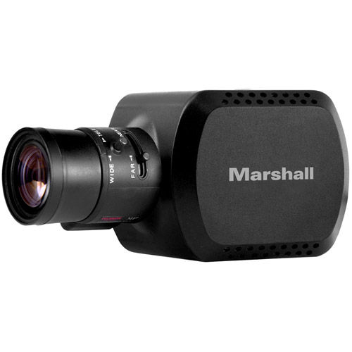 Compact 8MP UHD Camera CS/C-mount with ability to output HD60/UHD30 (6G/3G-SDI/HDMI-1.4) TRS Stereo