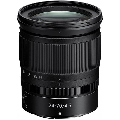 NIKKOR Z 24-70mm f/4.0 S Lens