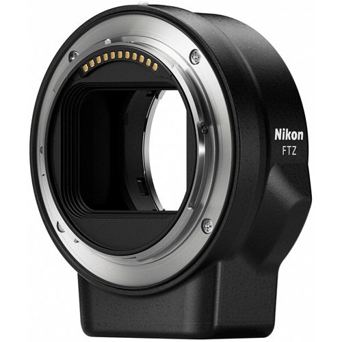 NIKKOR FTZ Mount Adapter for Z7 & Z6 (F-Mount Lens to Z-Mount Body)