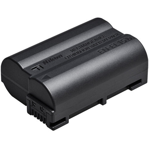 Nikon EN-EL15B Rechargeable Battery for Z7 & Z6, D850, D750, D7500, D7200,  D500, D610