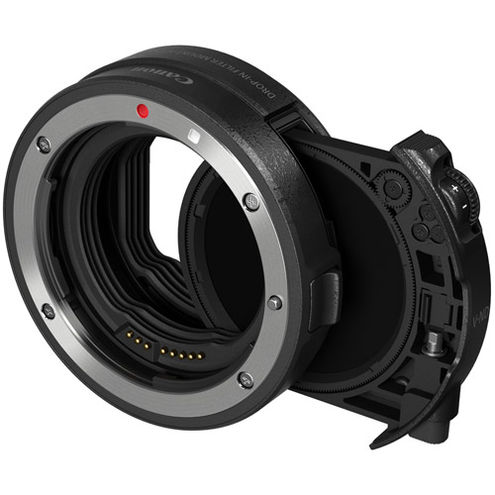 EF-EOS R Drop-in Filter Mount Adapter w/ Variable ND Filter