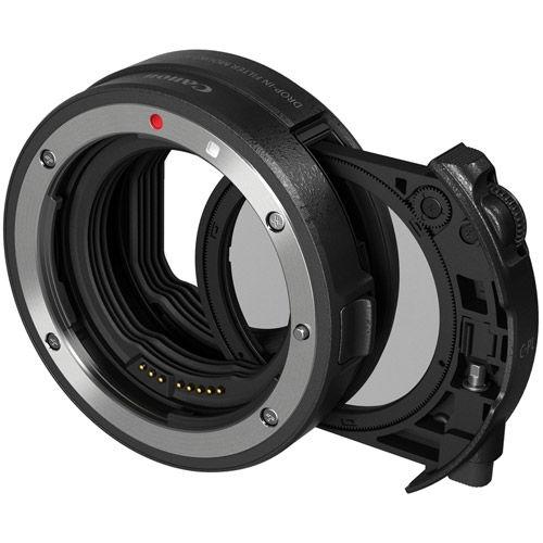 EF-EOS R Drop-in Filter Mount Adapter w/ Variable Circular Polarizing Filter