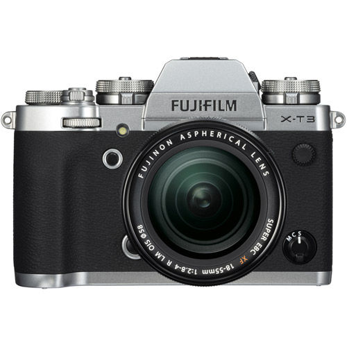 X-T3 Mirrorless Kit Silver w/ XF 18-55mm f/2.8-4.0 R LM OIS Lens
