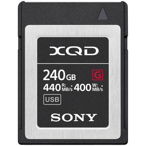 QD-G240F 240GB XQD Memory Card G SERIES, 440MB/S