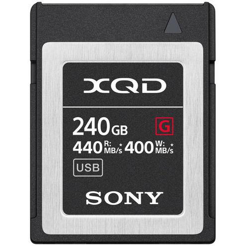 QDG240F 240GB XQD G Series Memory Card, 440MB/s read & 400MB/s write speeds
