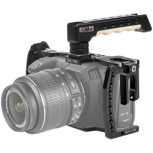 Cage For Blackmagic Pocket Cinema Camera 4K With Tophandle