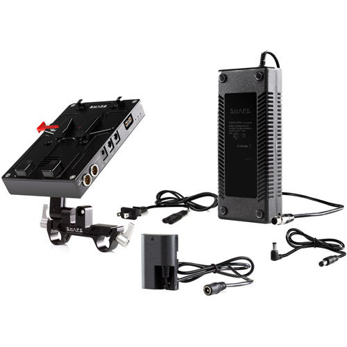 D-BOX Camera Power And Charger For CANON 5D, 7D, LP-E6 Series