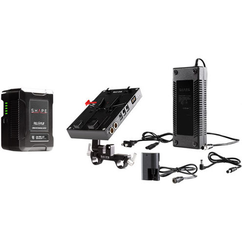 98 WH Battery Kit D-BOX Camera Power And Charger For Canon 5D, 7D, LP-E6 Series