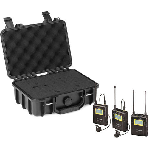 UwMic9 DTLK - Dual TX LAV Kit PROMO with Case (2 x TX9 + 1 x RX9) UHF Wireless Mic System