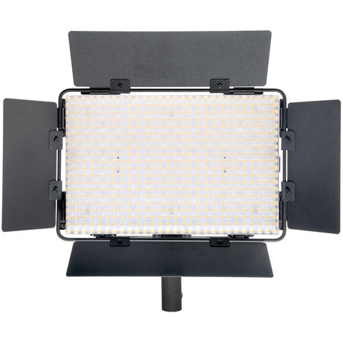 LG-B560CII LED Light Bi-Color with 2 x AA Battery Pack, Handle, Barndoor, Filter and AC Power Supply