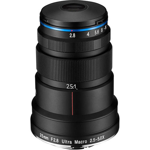 25mm f/2.8 2.5-5x Ultra-Macro Canon EF Mount Manual Focus Lens