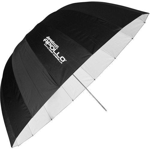 "43"" Deep Umbrella White"