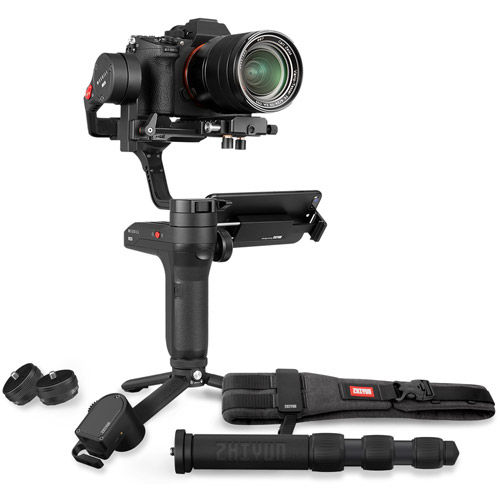 Weebill Lab Stabilizer Creator Package. Incl Phone Holder, Servo Zoom, Monopod, Tripod, and Belt