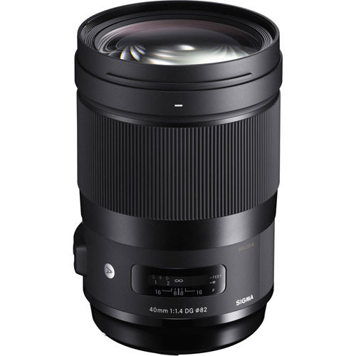 ART 40mm f/1.4 DG HSM Lens for Nikon