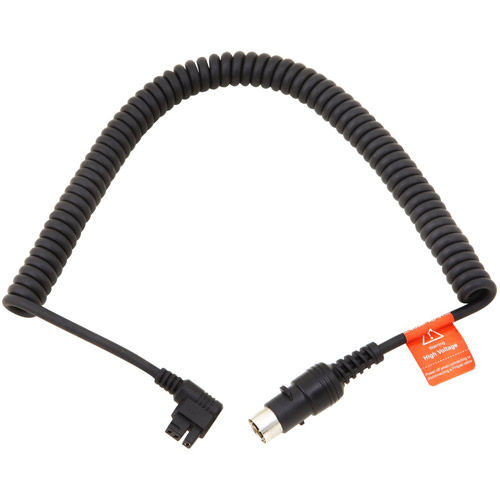 Coiled Power Cable for Godox Flash