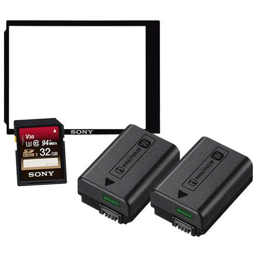 A7II Series Bonus Kit (NPFW50 x 2, 32GB SD card, PCKLM15 & 1YR Adobe Photo Cloud subscription)