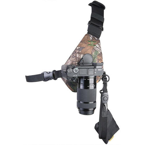 Skout Sling Style Harness for 1 Camera - RealTree Extra Camo