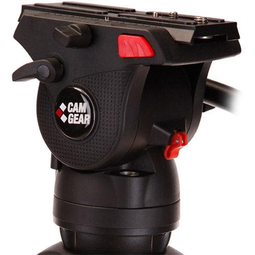 Mark Lite Tripod System Includes: Mark Lite Fluid Head, designed for DSLR/