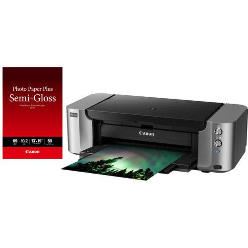 Canon PIXMA Pro 100 Printer With 13