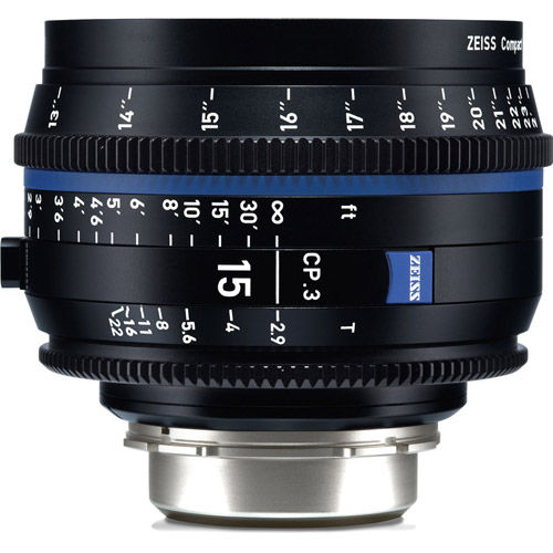 CP.3 2.9/15mm Lens - EF Mount (Feet)