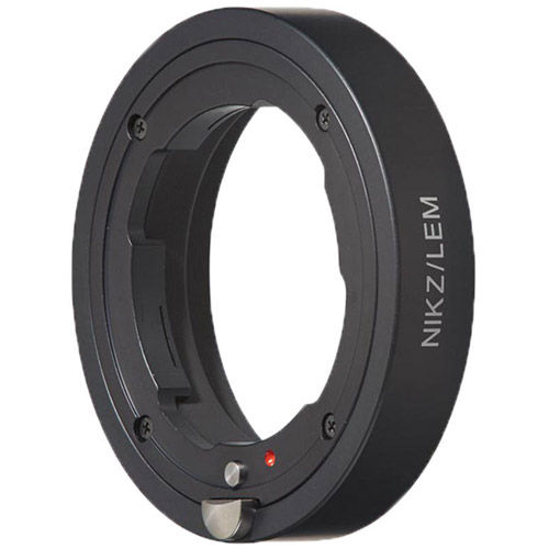 Lens Adapter Nikon Z-Mount Camera to Leica M Lens