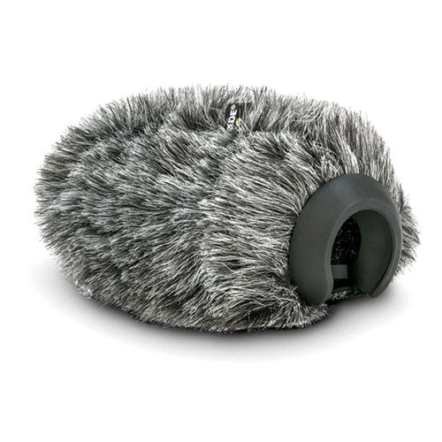 Deluxe Furry Wind Cover For the VideoMic Pro+ Designed for Use in Windy Environments