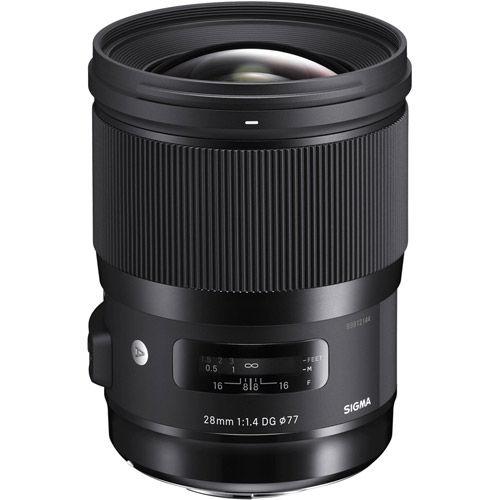 ART 28mm f/1.4 DG HSM Lens for Nikon