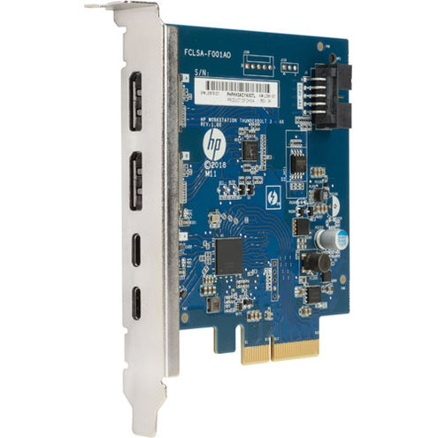Thunderbolt-3 PCIe 3-Port I/O Card