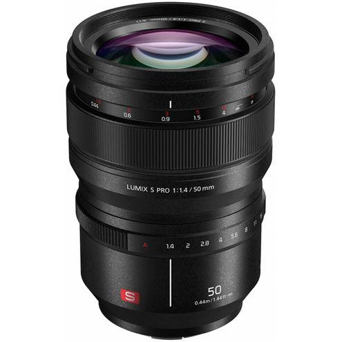 Lumix S PRO 50mm f/1.4 L-Mount Lens