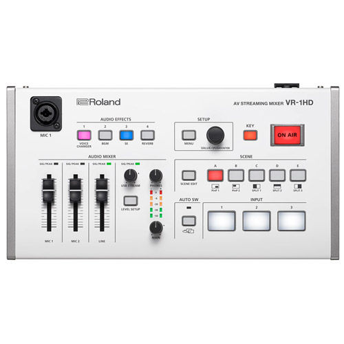 VR-1HD Live AV Streaming Mixer