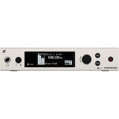 EM 300-500 G4-AW+Rackmount true diversity receiver GA3 rackmount not included frequency AW+ 470-558Mh