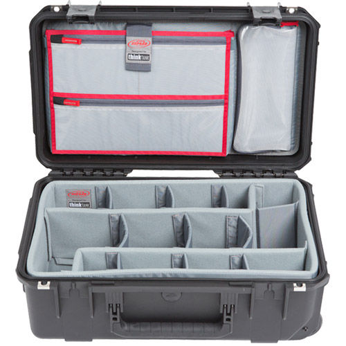 iSeries 2011-7 Case w/Think Tank Designed Dividers & Lid Organizer