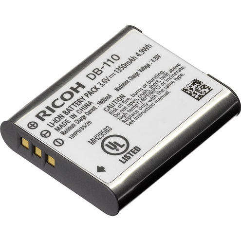 DB-110 Lithium-Ion Battery for Ricoh GR III, WG-6