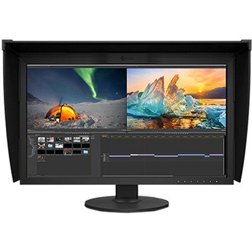"CG279X-BK 27"" 2560 x 1440 IPS LED Black, 99% Adobe RGB Coverage DP/DVI/HDMI, Bundled With Hood"
