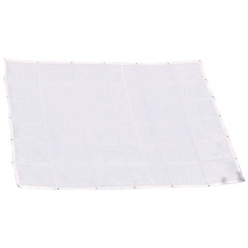 "White Artificial Silk, 48"" x 48"""