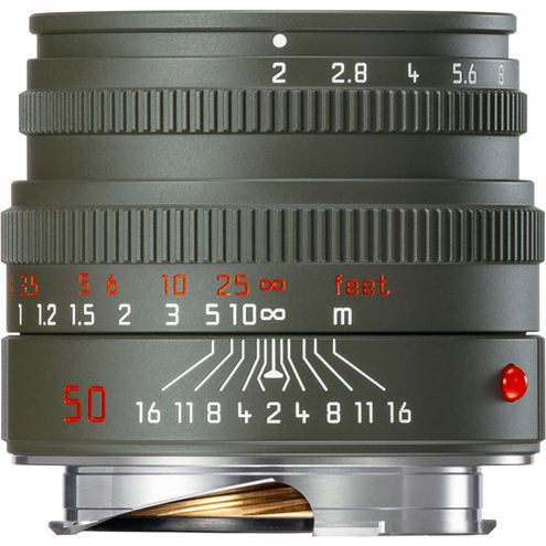 "50mm f/2.0 Summicron-M Edition ""Safari"" Lens"