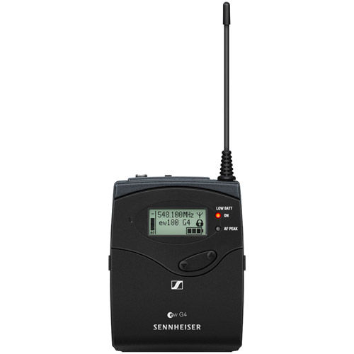"""SK 100 G4 Bodypack transmitter with 1/8"""" audio input socket (EW connector) freq  A1(470 -516 MHz)"""