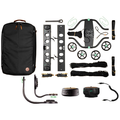 Slingshot 3-Axis Cable Cam - Indie Kit (25m), Slingshot, Genie II Linear, Mini,Bracket, Cable