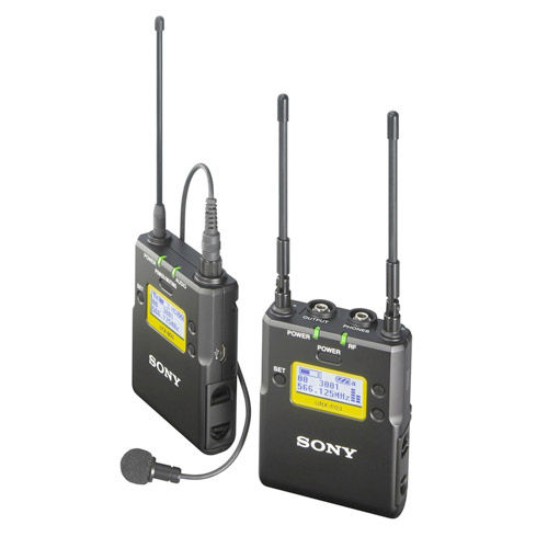 UWP-D11/90 Camera-Mount Wireless Omni Lavalier Microphone System (UC90: 941 to 960 MHz)