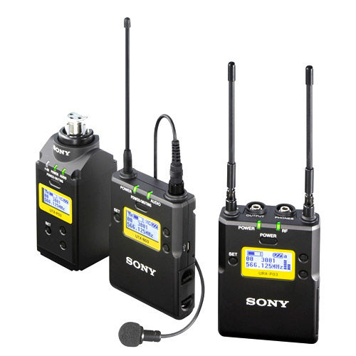 UWPD16/90 Bodypack-Lav Mic and Plug-on Pack - (UC90: 941 to 960 MHz)