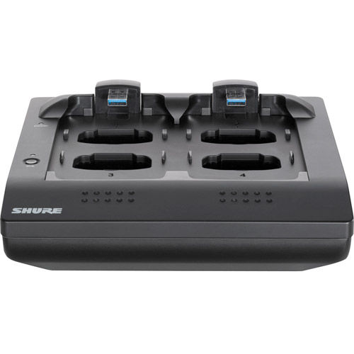 4-Port Networked Charging Station, Includes PS45US Power Supply. Handheld, Bodypack